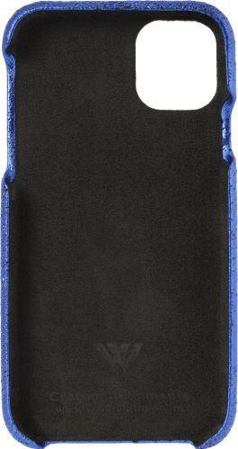 Husa de piele naturala Woop Iphone 11 Pro Christmas Magic albastru Huse Telefoane