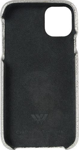 Husa de piele naturala Woop Iphone 11 Pro Christmas Magic argintiu Huse Telefoane