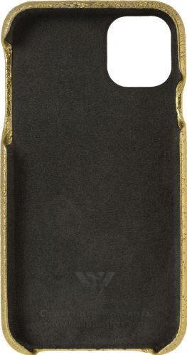 Husa de piele naturala Woop Iphone 11 Pro Christmas Magic auriu Huse Telefoane