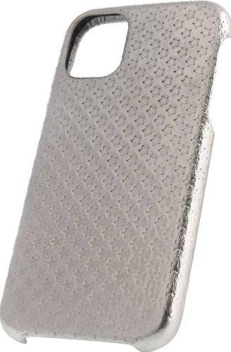 Husa de piele naturala Woop Iphone 11 Pro Christmas Star argintiu Huse Telefoane