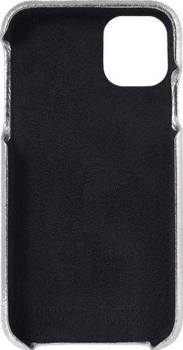 Husa de piele naturala Woop Iphone 11 Pro Max Christmas argintiu Huse Telefoane