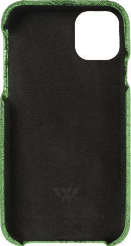 Husa de piele naturala Woop Iphone 11 Pro Max Christmas Magic verde Huse Telefoane