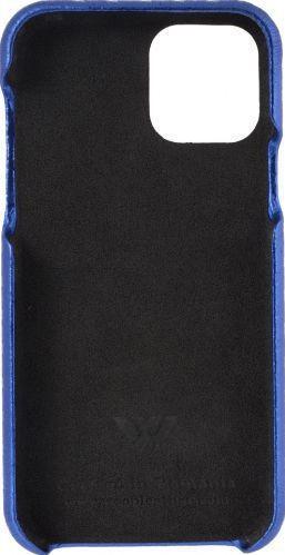 Husa de piele naturala Woop Iphone 11 Pro Max Christmas Star albastru Huse Telefoane