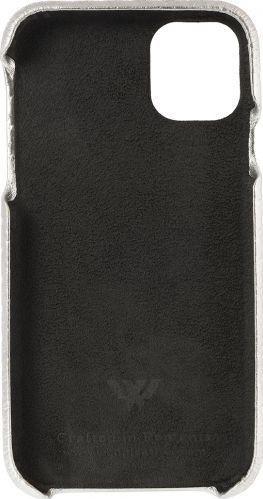 Husa de piele naturala Woop Iphone 11 Pro Max Christmas Star argintiu Huse Telefoane