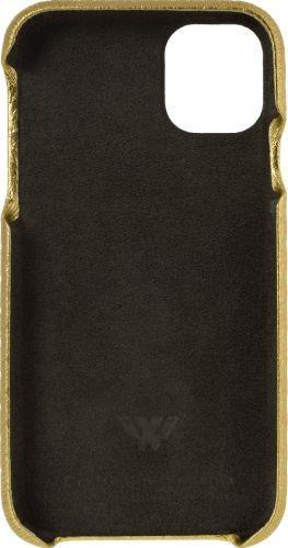 Husa de piele naturala Woop Iphone 11 Pro Max Christmas Star auriu Huse Telefoane