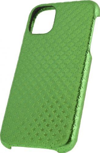 Husa de piele naturala Woop Iphone 11 Pro Max Christmas Star verde Huse Telefoane