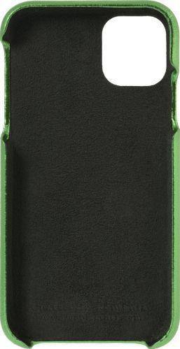 Husa de piele naturala Woop Iphone 11 Pro Max Christmas verde Huse Telefoane