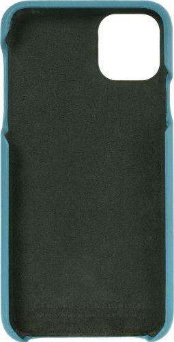 Husa de piele naturala Woop Iphone 11 Pro Max Color Pop albastru marin Huse Telefoane