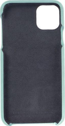 Husa de piele naturala Woop Iphone 11 Pro Max Color Pop aqua Huse Telefoane