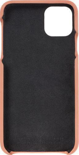 Husa de piele naturala Woop Iphone 11 Pro Max Color Pop piersica Huse Telefoane