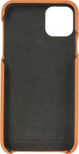 Husa de piele naturala Woop Iphone 11 Pro Max Color Pop portocaliu Huse Telefoane