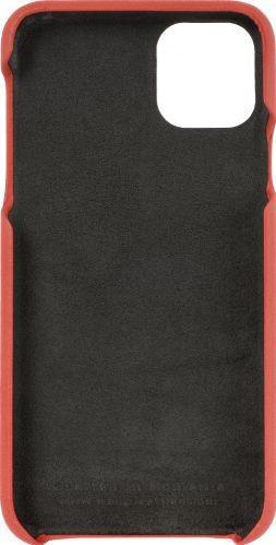 Husa de piele naturala Woop Iphone 11 Pro Max Color Pop rosu Huse Telefoane
