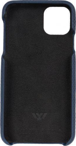 Husa de piele naturala Woop Iphone 11 Pro Max soft back Pierced denim Huse Telefoane