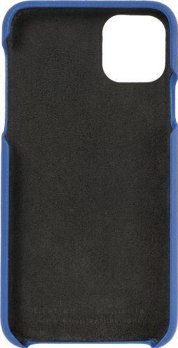 Husa de piele naturala Woop Iphone 11 Pro Max Spices and Flavours albastru Huse Telefoane