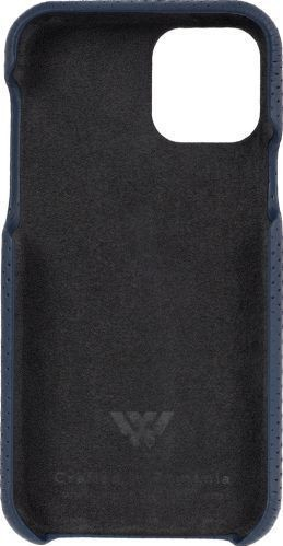 Husa de piele naturala Woop Iphone 11 Pro soft back Pierced denim Huse Telefoane