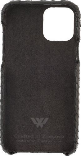 Husa Iphone 11 Pro piele naturala Exotic Jungle Black Huse Telefoane