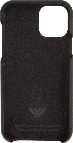 Husa Iphone 11 Pro piele naturala Swarovski Black Huse Telefoane