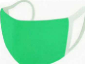 Masca protectie 2 straturi reutilizabila cu posibilitatea de a adauga filtru verde Masti chirurgicale si reutilizabile