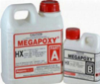 Rasina epoxidica transparenta lichida Megapoxy HX 1L Siliconi Spume si Solutii tehnice