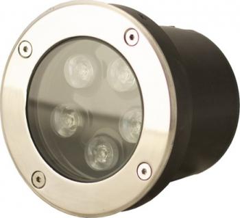 Spot IP67 LED 5W - 50 000 ore incastrabil pentru pavaj LED Market 3000K lumina calda Corpuri de iluminat