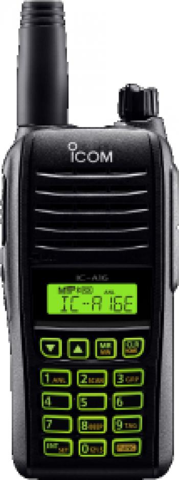 Statie radio portabila aviatie Icom IC-A16E