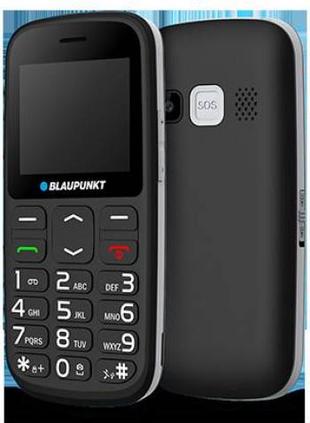 Telefon Mobil BlauPunkt BS 02 Senior Taste Mari Negru Telefoane Mobile