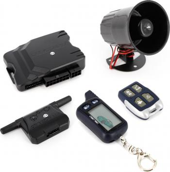 Alarma auto Carguard G2500 cu pornire motor Alarme auto si Senzori de parcare