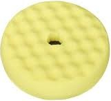 Burete polis galben valurit cu fata dubla Quick Connect 150mm 3M Cosmetica si Detergenti Auto