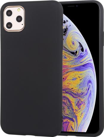Husa din silicon iPhone 11 Pro neagra seria Colorful model Liquid Silicon de la Mutural Huse Telefoane