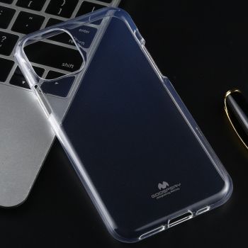 Husa Goospery iPhone 11 Pro transparenta model Jelly material moale tpu originala Mercury Huse Telefoane