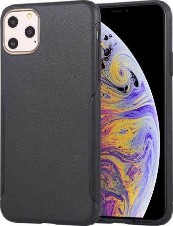 Husa iPhone 11 Pro Max neagra tpu si policarbonat seria Protector protectiva originala Mutural Huse Telefoane