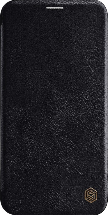 Husa piele calitativa originala Nillkin QIN iPhone 11 Pro Max neagra Huse Telefoane