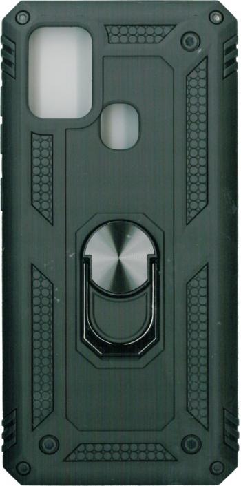 Husa protectie spate anti-shock iring negru pentru Samsung Galaxy A21s Huse Telefoane