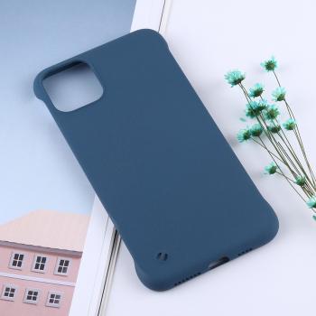 Husa ultra-subtire iPhone 11 Pro Max albastru model Frosted Anti-Skidding policarbonat Huse Telefoane