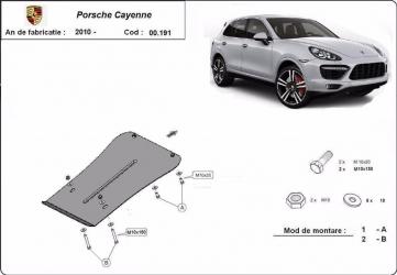 Scut auto metalic cutie de viteza Porsche Cayenne Cayenne Turbo 2010- Volkswagen Touareg 2010/5 Scuturi auto