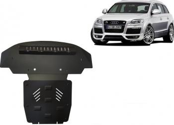 Scut auto metalic motor Audi Q7 / Si pentru S-Line / 2006 and ndash Scuturi auto