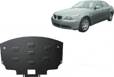 Scut auto metalic motor Bmw Seria 5 E60 E61 / Toate motorizarile / 2003 and ndash 2010 Scuturi auto