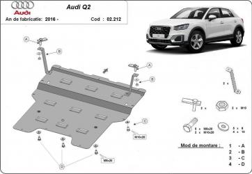 Scut auto metalic motor cutie de viteza Audi / Audi Q3 2011-2018 / 2011-2018 Scuturi auto