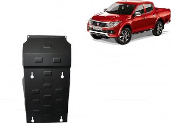 Scut auto metalic motor cutie de viteza Fiat Fullback / toate motorizarile / 2016- Scuturi auto