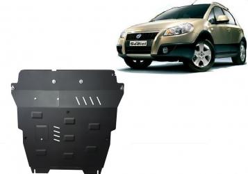 Scut auto metalic motor cutie de viteza Fiat Sedici 2006- Suzuki SX 2006- Scuturi auto