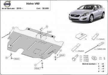 Scut auto metalic motor cutie de viteza Ford Galaxy Mondeo IV S-Max Volvo S60 S80 XC 60 XC 70 Scuturi auto