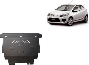 Scut auto metalic motor cutie de viteza Mazda 2 / toate motorizarile / 2008- Scuturi auto