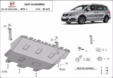 Scut auto metalic motor cutie de viteza Seat Alhambra 2010- Volkswagen Sharan 2010- Scuturi auto