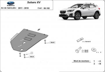 Scut auto metalic motor pentru Subaru XV / / 2011-2018 Scuturi auto