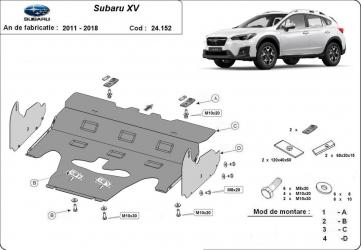 Scut auto metalic motor Subaru XV / / 2011-2018 Scuturi auto