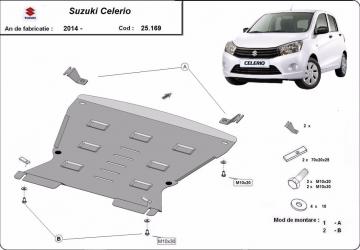Scut auto metalic motor Suzuki Celerio / 2014- Scuturi auto