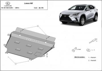Scut auto metalic motor Toyota Rav 4 2013- / / 2013- Scuturi auto