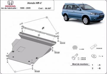 Scut auto metalic MTR HONDA HR-V Scuturi auto