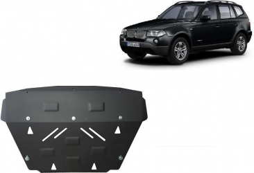 Scut auto metalic pentru motor MTR BMW X3 E83 Scuturi auto