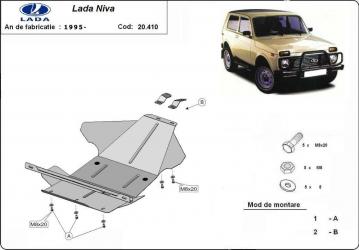 Scut auto metalic pentru motor MTR LADA NIVA Scuturi auto
